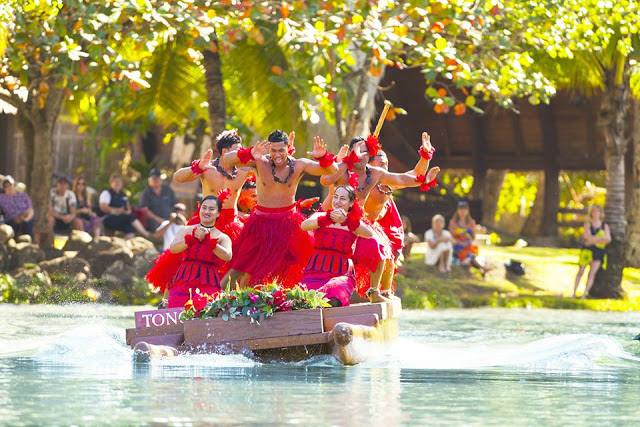 Water Dance at the Polynesian Cultural Center