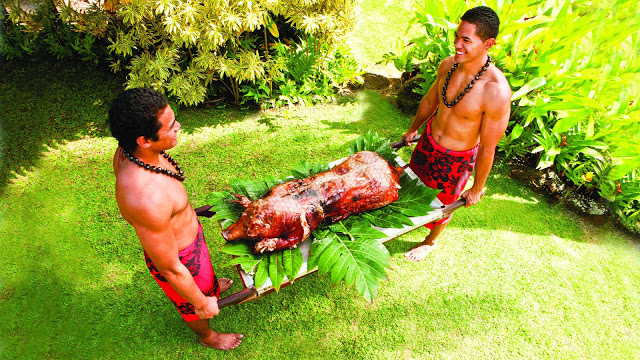 Hawaiian Luau Specialties!