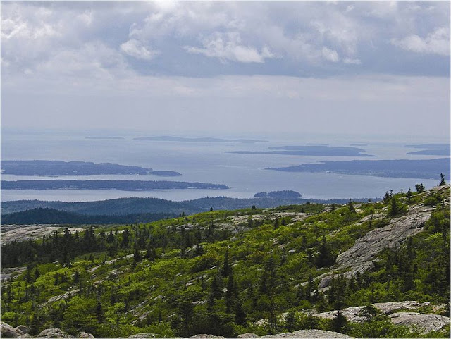 Acadia National Park from Above