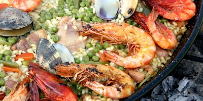Paella ~ Spain's National Dish.